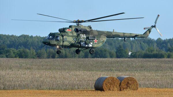 Śmigłowiec Mi-8 Sił Powietrznych Białorusi - Sputnik Polska