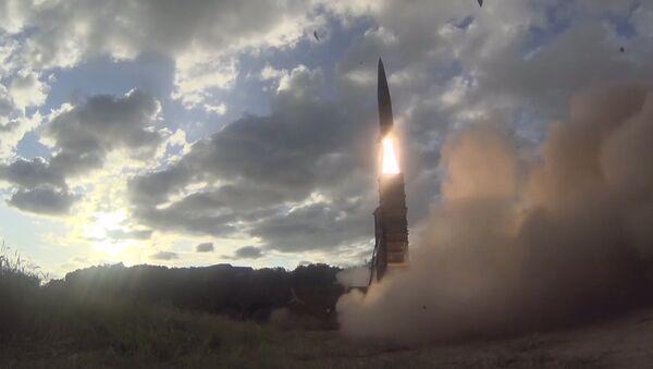 Korea Południowa wystrzeliła rakietę balistyczną Hyunmoo-2 - Sputnik Polska