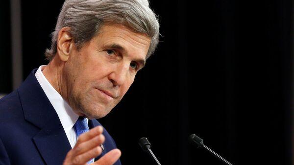 Były sekretarz stanu USA John Kerry - Sputnik Polska