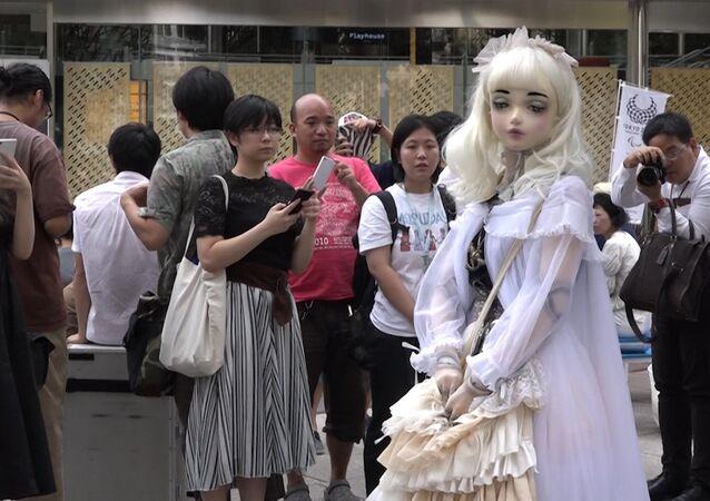 Żywa lalka Lulu Hashimoto