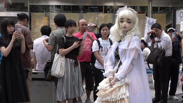 Żywa lalka Lulu Hashimoto - Sputnik Polska
