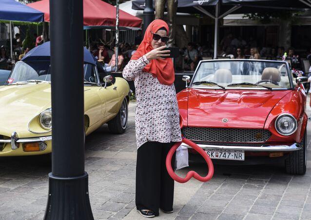 Muzułmanka w kosowskim Prizrenie