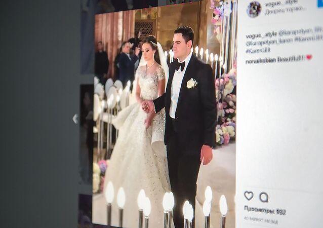 Ślub Karena Karapetiana