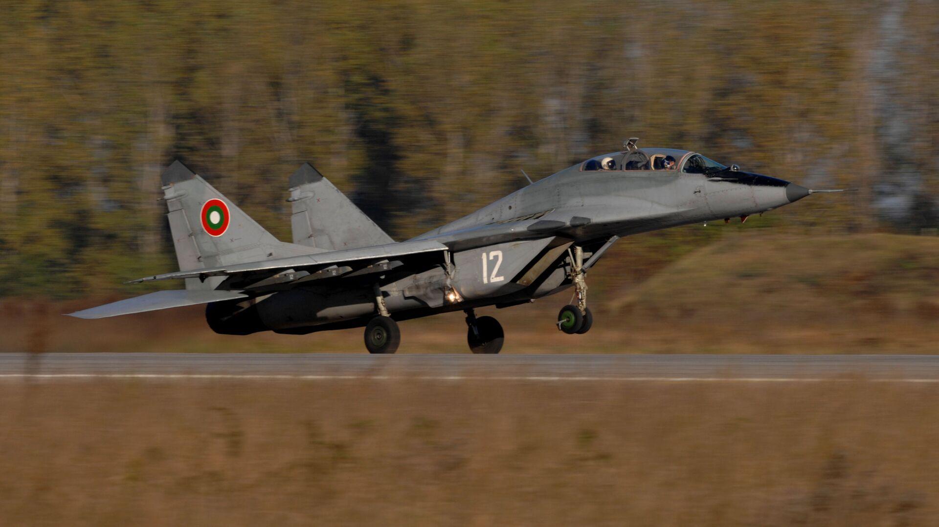 Samolot MiG-29 sił powietrznych Bułgarii - Sputnik Polska, 1920, 28.06.2021