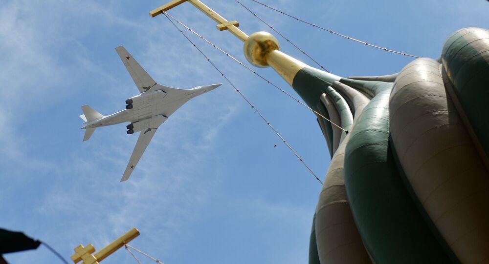 Turboodrzutowy ponaddźwiękowy bombowiec strategiczny Tu-160