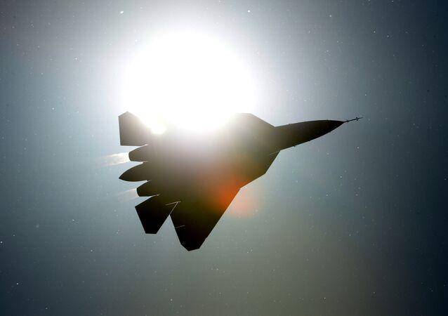 Rosyjski samolot myśliwski PAK FA T-50