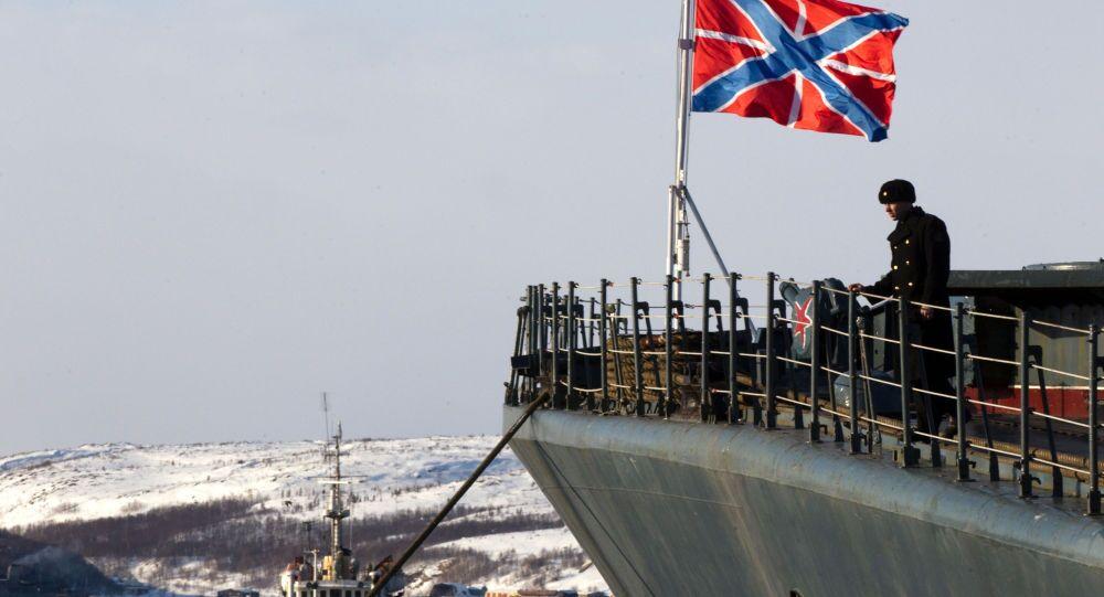 Duży okręt do zwalczania łodzi podwodnych «Siewieromorsk»