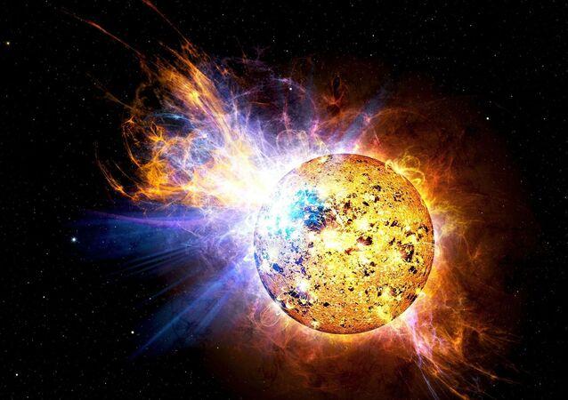 Wybuch na Słońcu