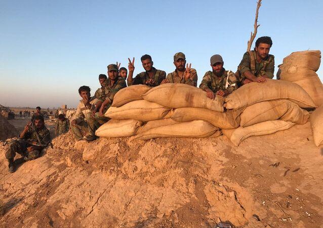 Sytuacja w rejonie Dajr az-Zaur