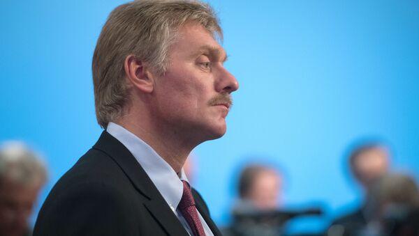 Rzecznik prasowy prezydenta Rosji Dmitrij Pieskow. Zdjęcie archiwalne - Sputnik Polska