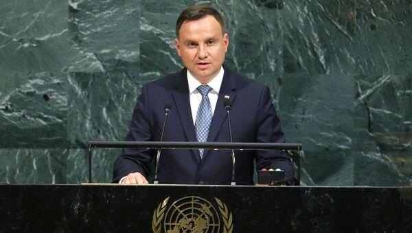 Andrzej Duda na Sesji ONZ - Sputnik Polska