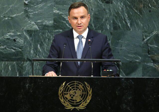 Andrzej Duda na Sesji ONZ
