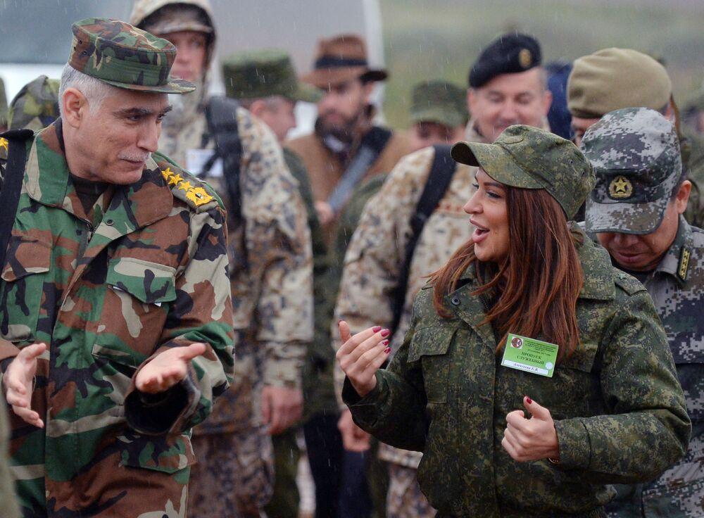 Zagraniczni obserwatorzy wojskowi podczas rosyjsko-białoruskich manewrów Zapad 2017