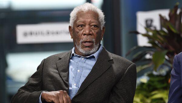 Aktor Morgan Freeman - Sputnik Polska