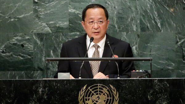 Szef MSZ Korei Północnej Ri Yong Ho - Sputnik Polska