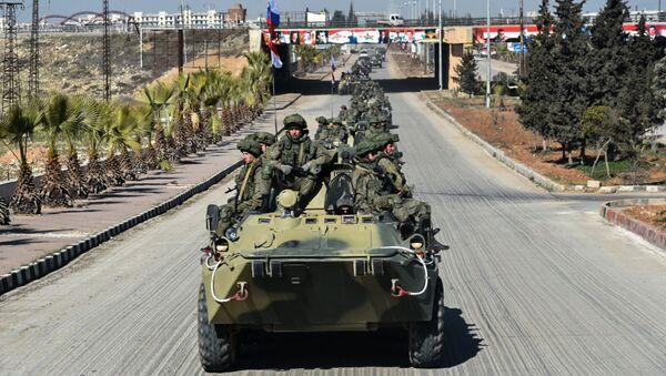 Rosyjskie wojska w Syrii - Sputnik Polska