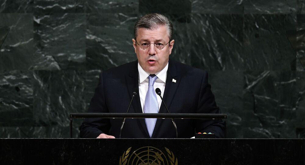 Premier Gruzji Giorgi Kwirikaszwili