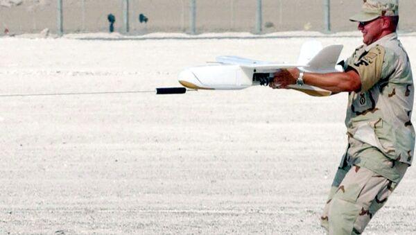 Dron Desert Hawk - Sputnik Polska