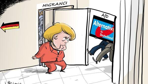 Bezprecedensowy wynik wyborów w Niemczech zmienia krajobraz polityczny - Sputnik Polska