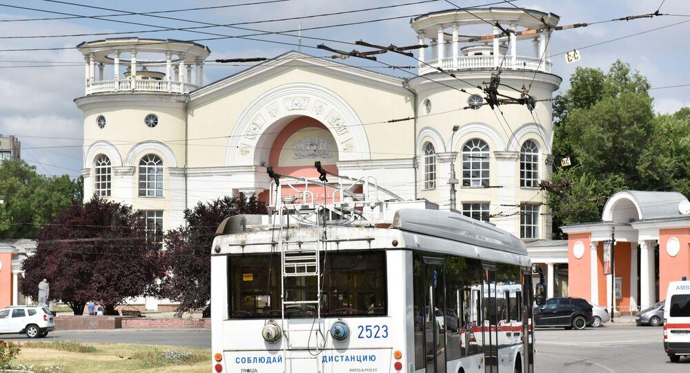 Na ulicach Symferopolu