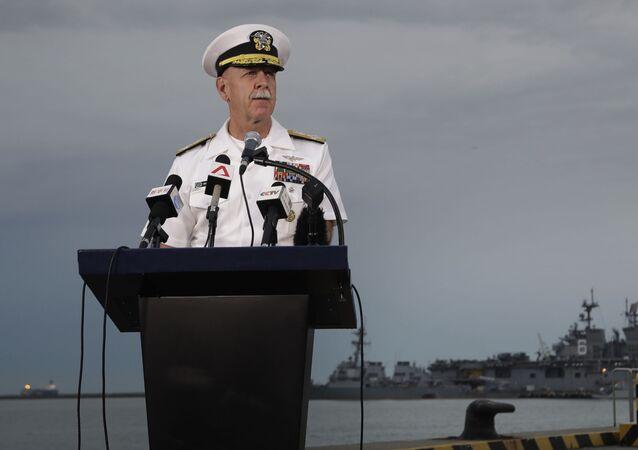 Dowódca Floty Pacyfiku USA Scott Swift
