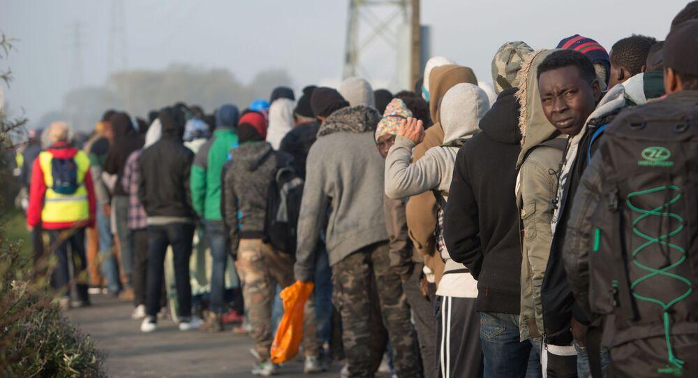 Uchodźcy w Calais, Francja