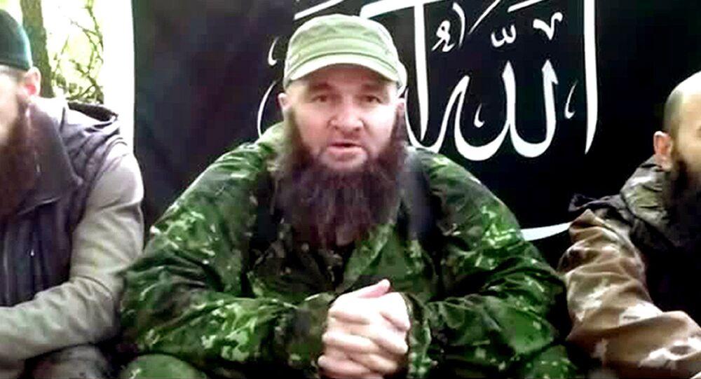 Przywódca zbrojnego północnokaukaskiego podziemia Doku Umarow