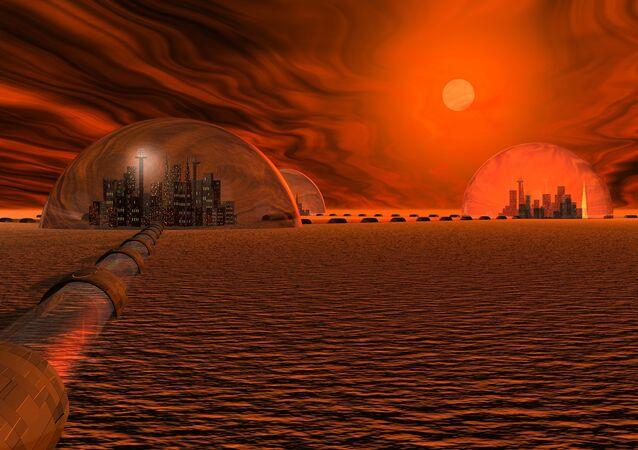 Koncepcja miasta na Marsie