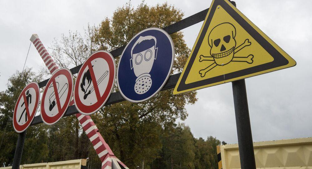 Terytorium składowania wypalonej amunicji wypełnionej substancjami trującymi w celu dalszej jej utylizacji w ramach programu niszczenia ostatniej broni chemicznej w ośrodku Kizner w Udmurcji.