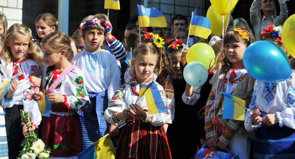 Początek roku szkolnego na Ukrainie