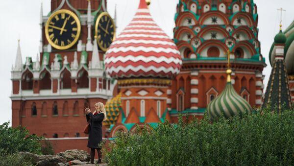 Pod murami Kremla. Park Zariadje - Sputnik Polska