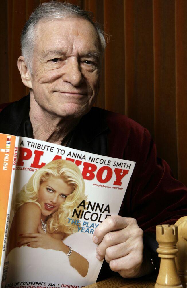 Założyciel magazynu Playboy Hugh Hefner