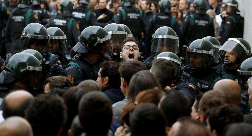 Katalonia, 1.10.2017