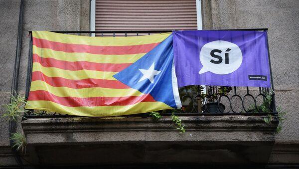 Referendum niepodległościowe w Katalonii - Sputnik Polska