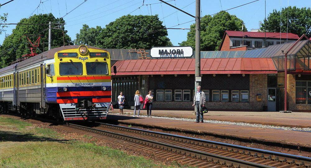 Stacja kolejowa Majori w Jurmale