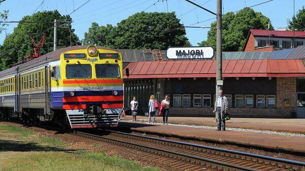 Stacja kolejowa Majori w Jurmale - Sputnik Polska
