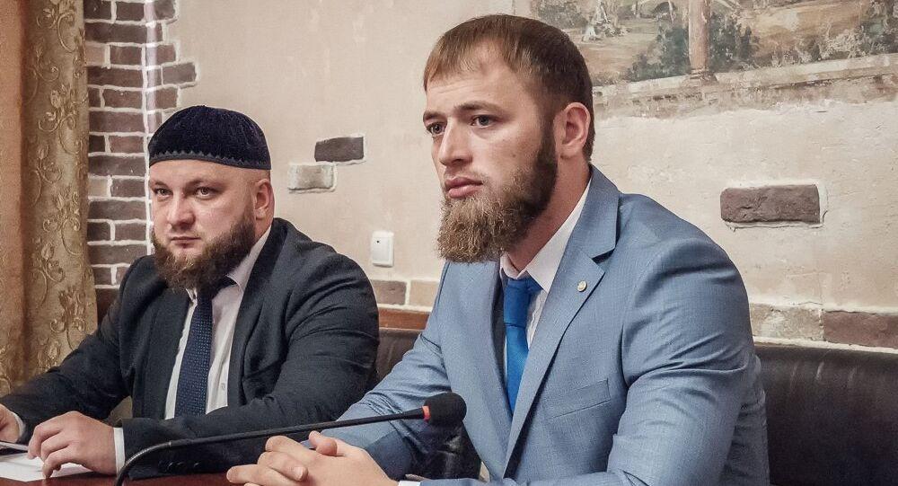 Minister do spraw młodzieży Czeczenii Isa Ibragimow