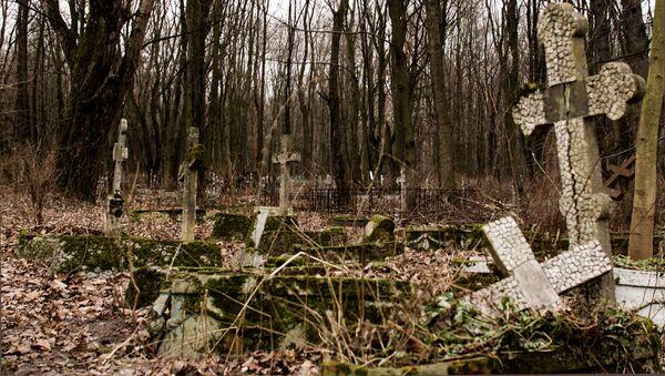 Cmentarz Smoleński w Petersburgu - Sputnik Polska