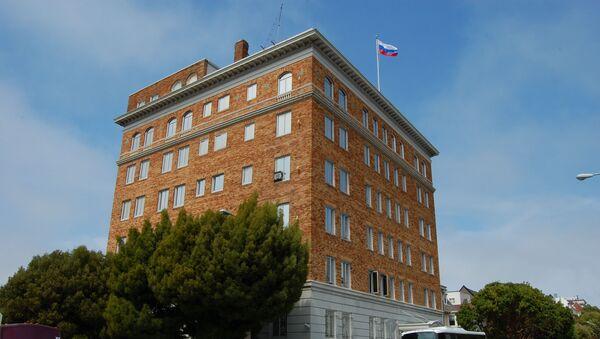 Siedziba Konsulatu Generalnego Rosji w San Francisco - Sputnik Polska