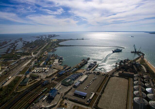 Port morski Kaukaz