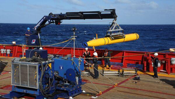 Amerykański autonomiczny bezzałogowy pojazd podwodny Bluefin-21. Zdjęcie archiwalne - Sputnik Polska