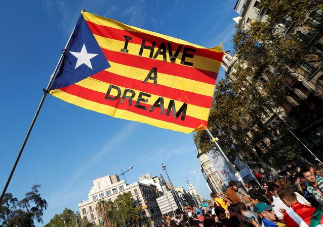 Masowe protesty w Barcelonie