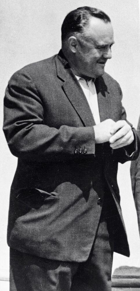 Generalny konstruktor rakietowo-kosmicznego przemysłu ZSRR Siergiej Pawłowicz Korolow