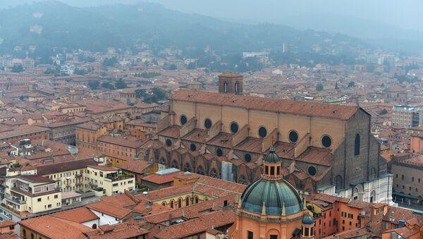 Widok na miasto Bolonia, centrum regionu Emilia-Romagna we Włoszech - Sputnik Polska