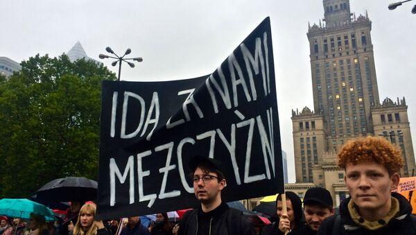 Czarny wtorek w Warszawie - Sputnik Polska