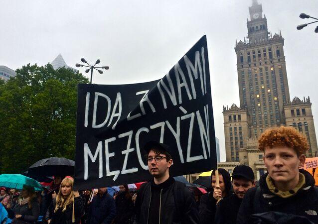Czarny wtorek w Warszawie