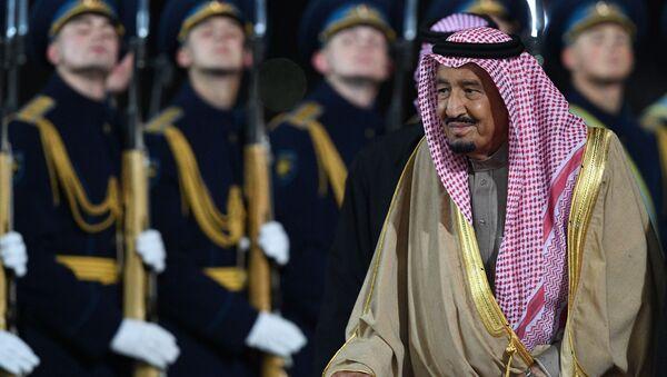 Król Arabii Saudyjskiej Salman ibn Abd al-Aziz as-Saud z wizytą w Moskwie - Sputnik Polska