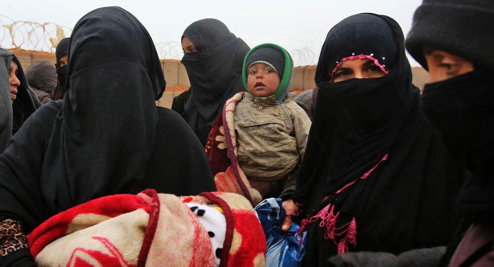 Obóz dla uchodźców Rukban w Syrii