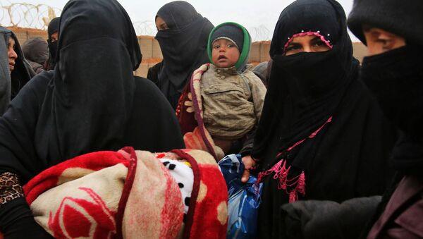 Obóz dla uchodźców Rukban w Syrii - Sputnik Polska