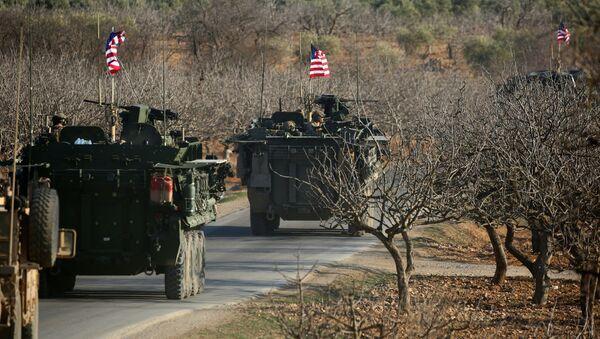 Siły amerykańskie w Syrii - Sputnik Polska